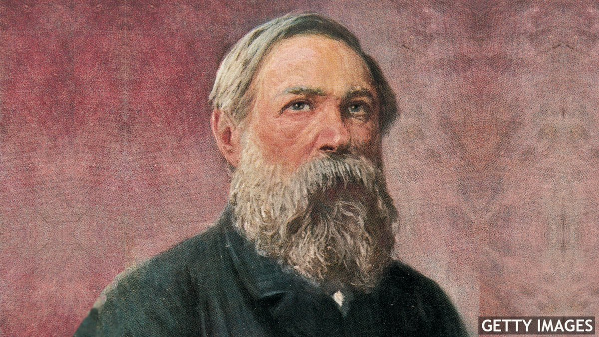 A Champagne Loving Industrialist And Hunter Friedrich Engels Was