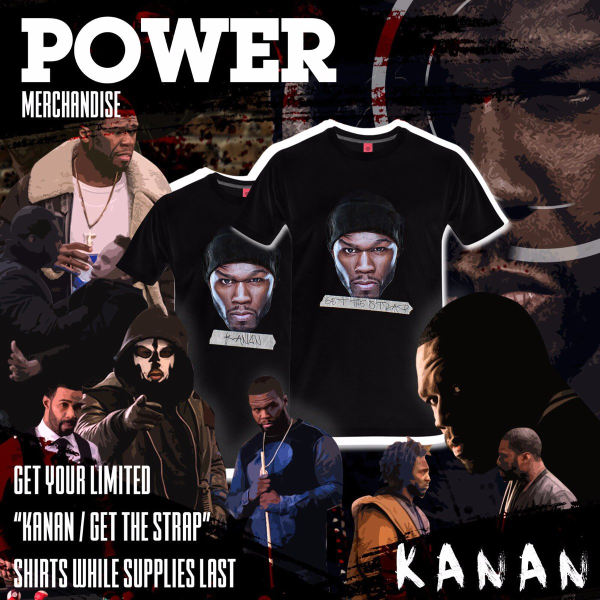 Get your #KANAN gear now... https://t.co/Sq04SU4Mvh #powertv #getthestrap https://t.co/N126CBjurn