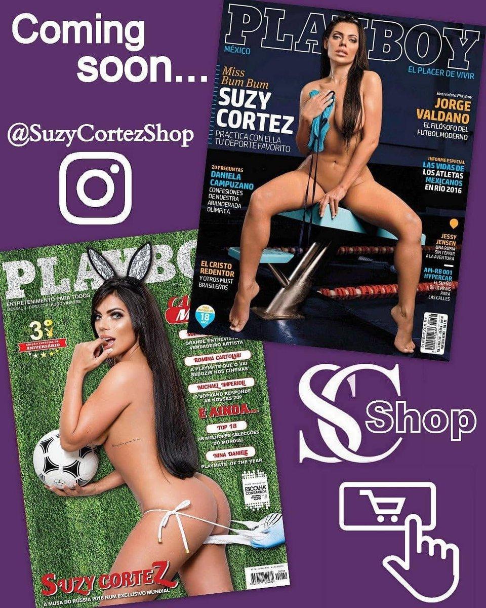 Em breve todas minhas revistas serão vendidas no site da minha loja online @SuzyCortezShop ???????????? #SuzyCortez #Playboy https://t.co/7EbBgDNmPF