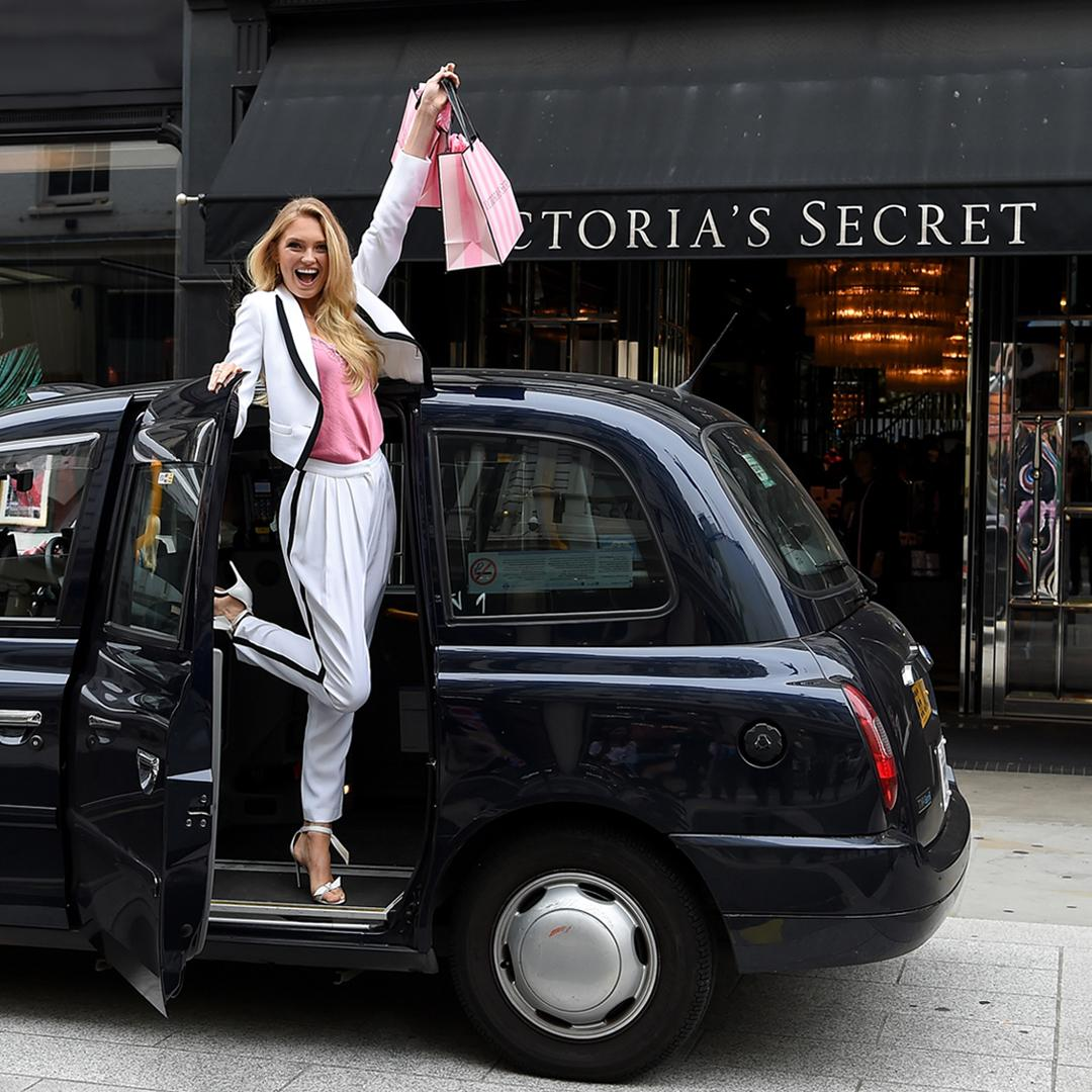 London shopping spree, anyone? Looks like Romee did well at our New Bond Street store. https://t.co/WTjHoIFxtV https://t.co/w7Rff1xl0D