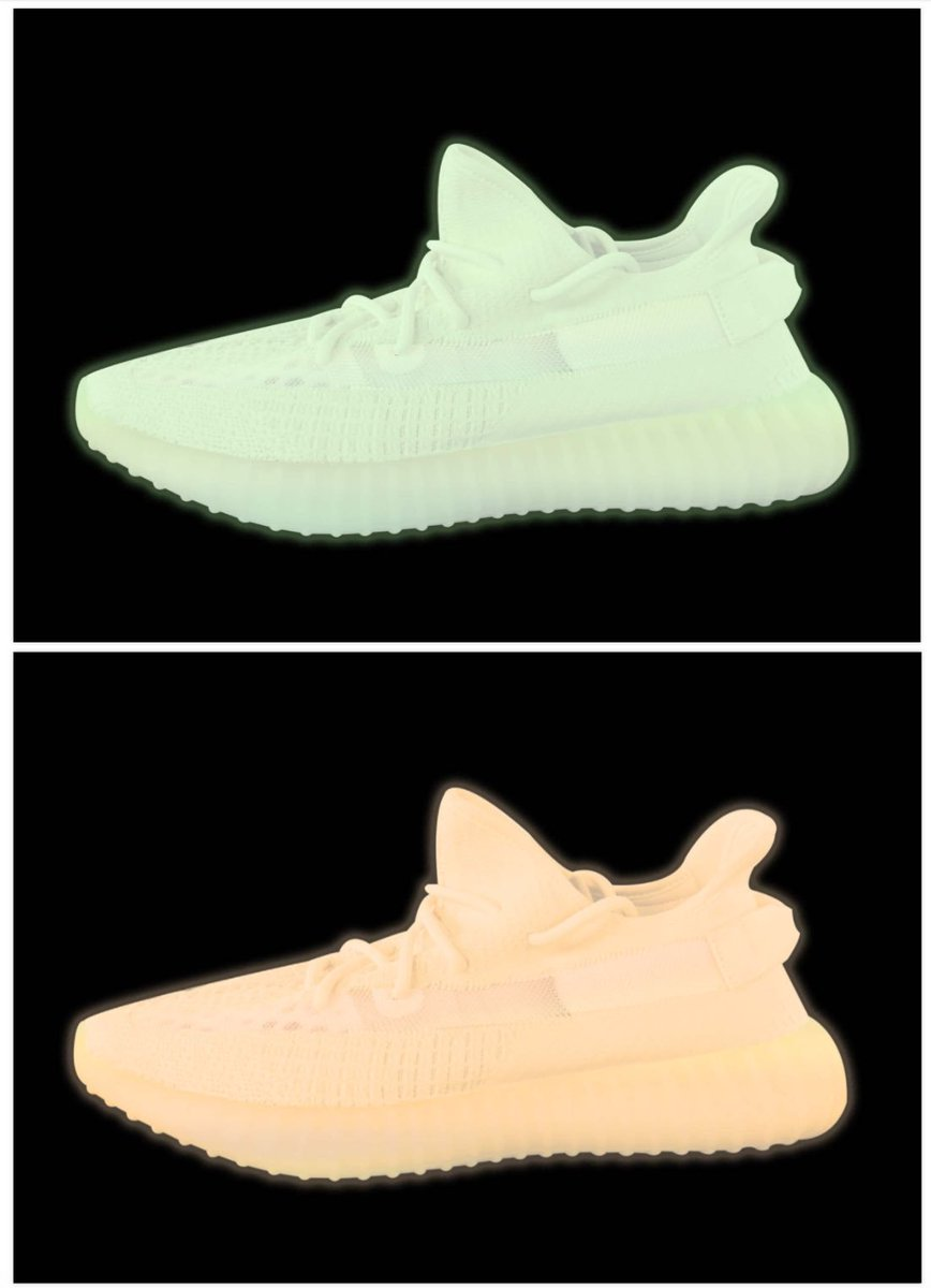 Can't wait for these glow in the dark 350s ???????????????????????? https://t.co/xoko1QaGI8