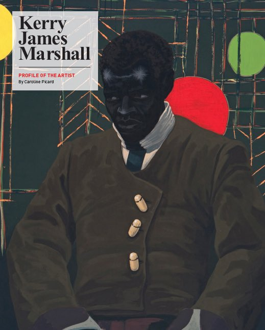 Thank you Kerry James Marshall for the amazing work you put in the world https://t.co/A1nv3EiZhG