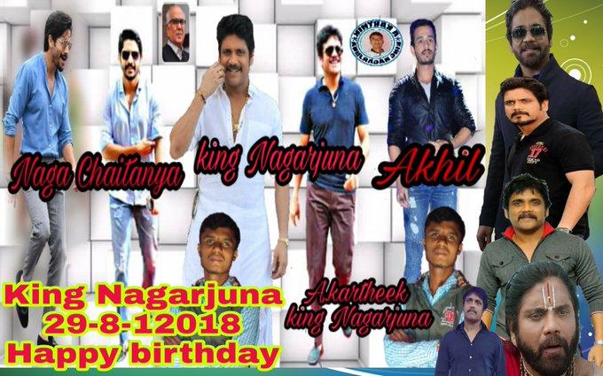 King Nagarjuna akkineni Happy birthday