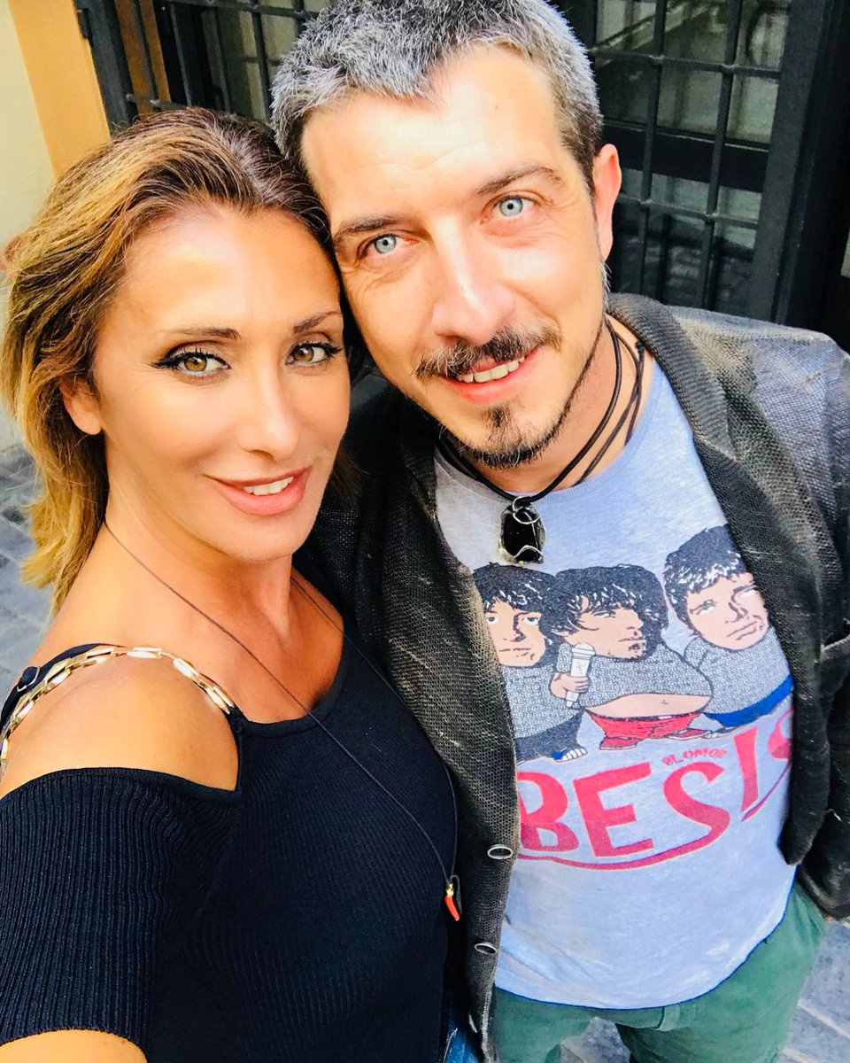 RT @_PaoloRuffini: Ganzi! ???? @SabrinaSalerno #workinprogress #29agosto https://t.co/OlJ1Ghq3ty