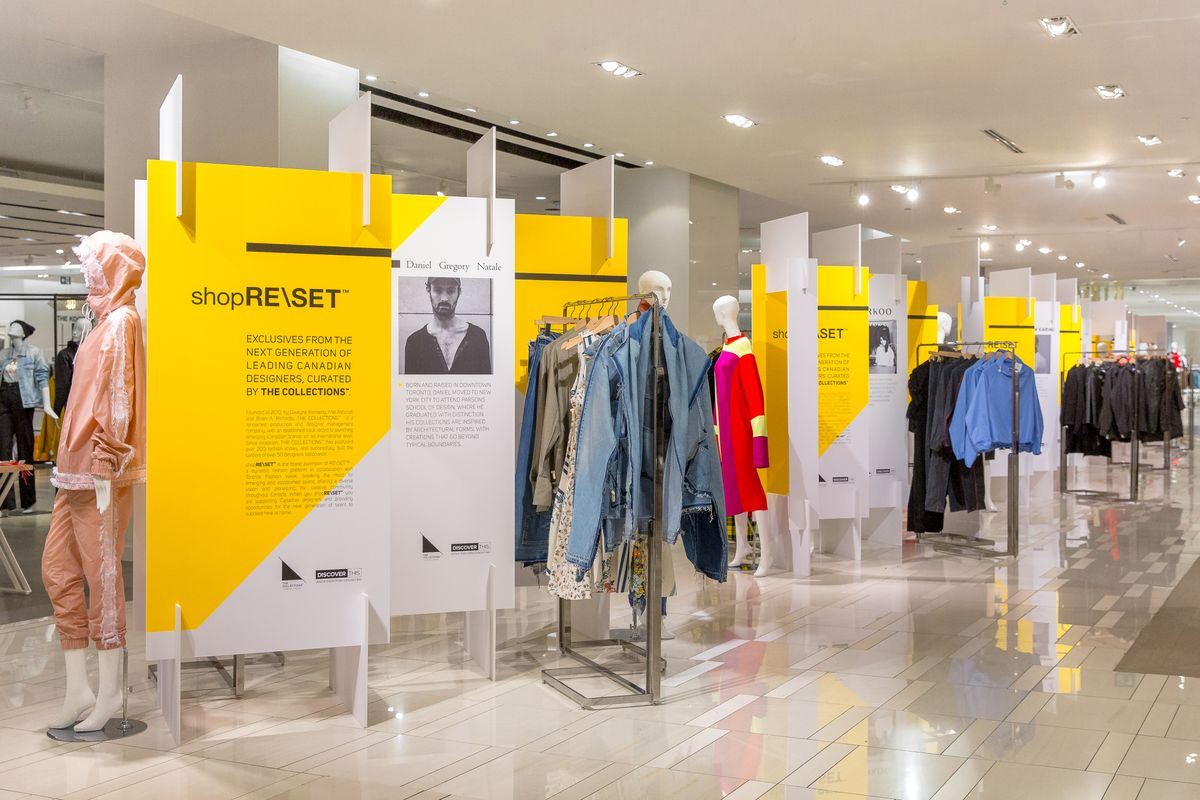 A new series of pop-up shops puts Canadian designers at the forefront of fall fashion