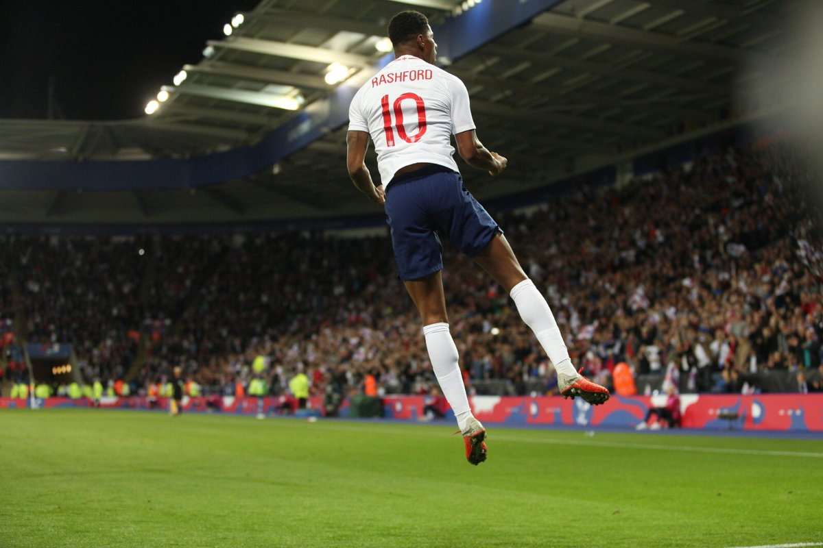 RT @MarcusRashford: Two in two 🎯 #ThreeLions https://t.co/4QAlKEiIvW