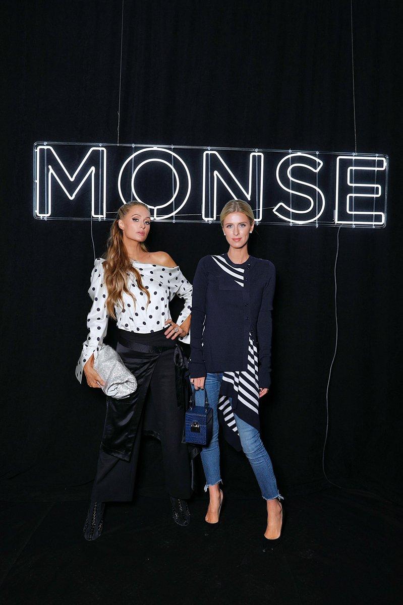 RT @NickyHilton: MONSE sisters ???? #NYFW https://t.co/nVzp3hXfE6
