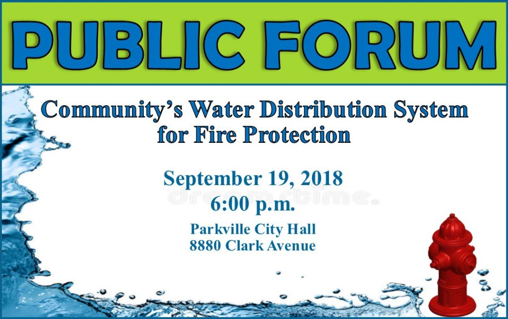 test Twitter Media - Want to learn more about the community's fire protection system? @parkvillemo is hosting a public forum on Wednesday, September 19th at 6pm  and Parkville City Hall with the @SPFPD and @moamwater. https://t.co/qKl7598W2i