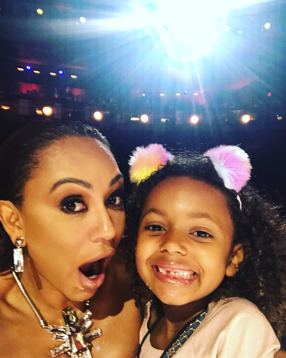 Take your kids to work day today at @agt boom #familyfirstalways #work #bosslady https://t.co/G172DcwHjY