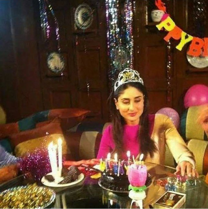 It is Bebo s birthday today! Happy Birthday Kareena Kapoor.. Which Kareena film is your most favourite?