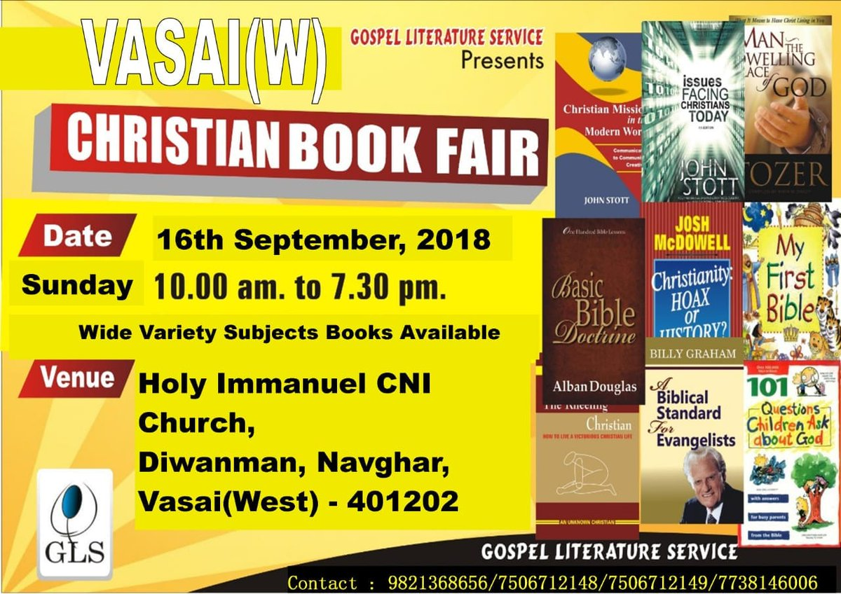 test Twitter Media - GLS Book Fair@Vasai https://t.co/fnzOUfpMN1