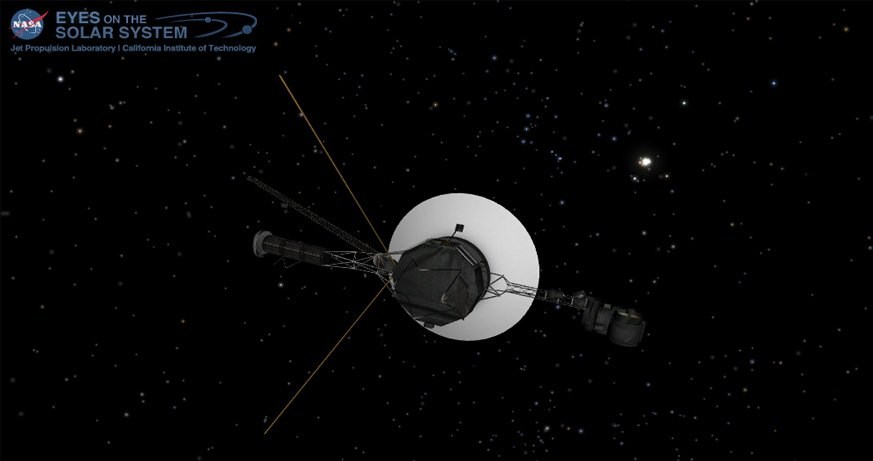 We Announced That Voyager 1 Had Reached Interstellare In 2013 Were Still In Contact With Theecraft Even Though It Is Over 13 Billion Miles