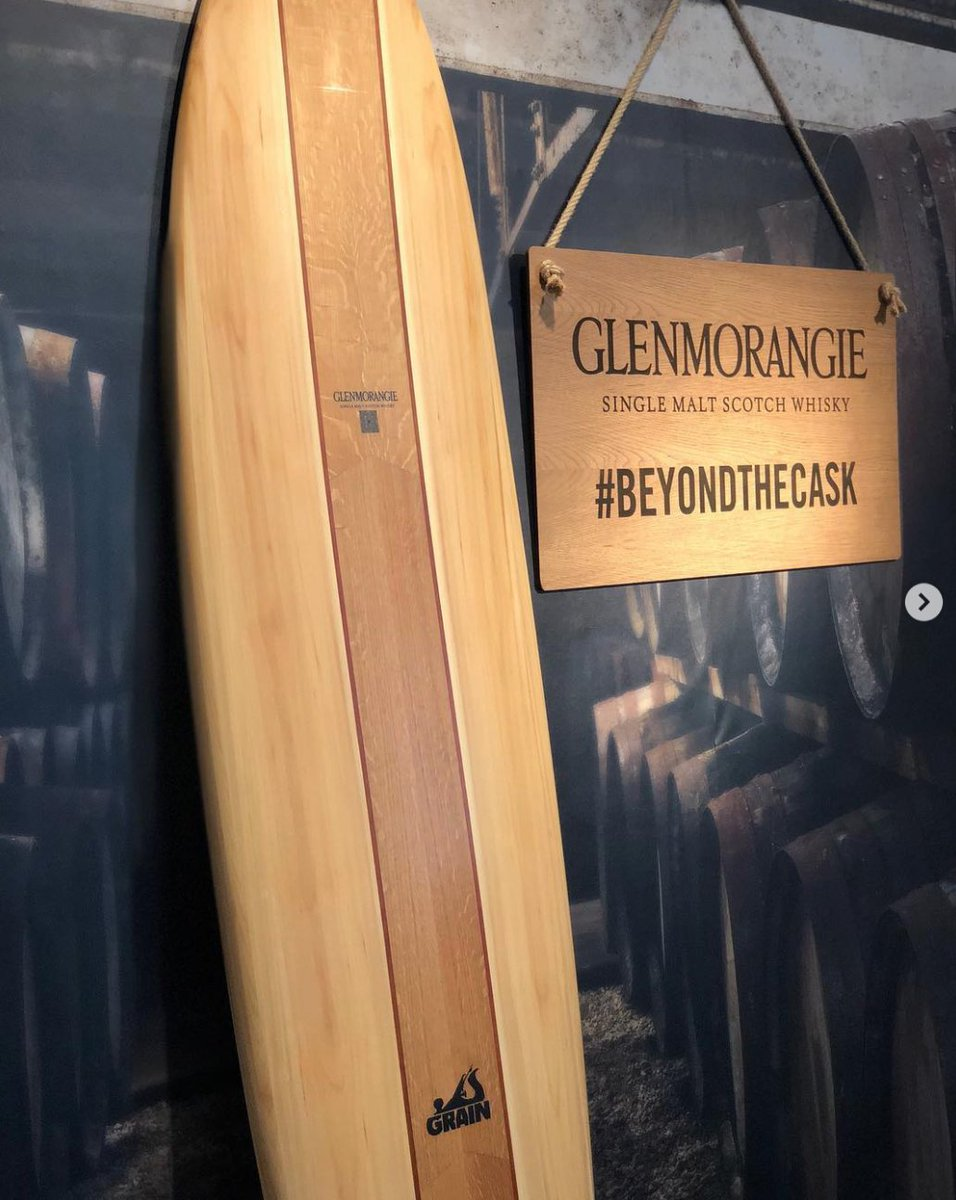 test Twitter Media - Behind the scenes at tonight's launch of the @glenmorangie x @grainsurfboards collaboration for the third #beyondthecask #london #soho #grainsurfboards #glenmorangie 🏄🏼‍♀️🏄🏻‍♂️ https://t.co/OWKpQ0ixg0