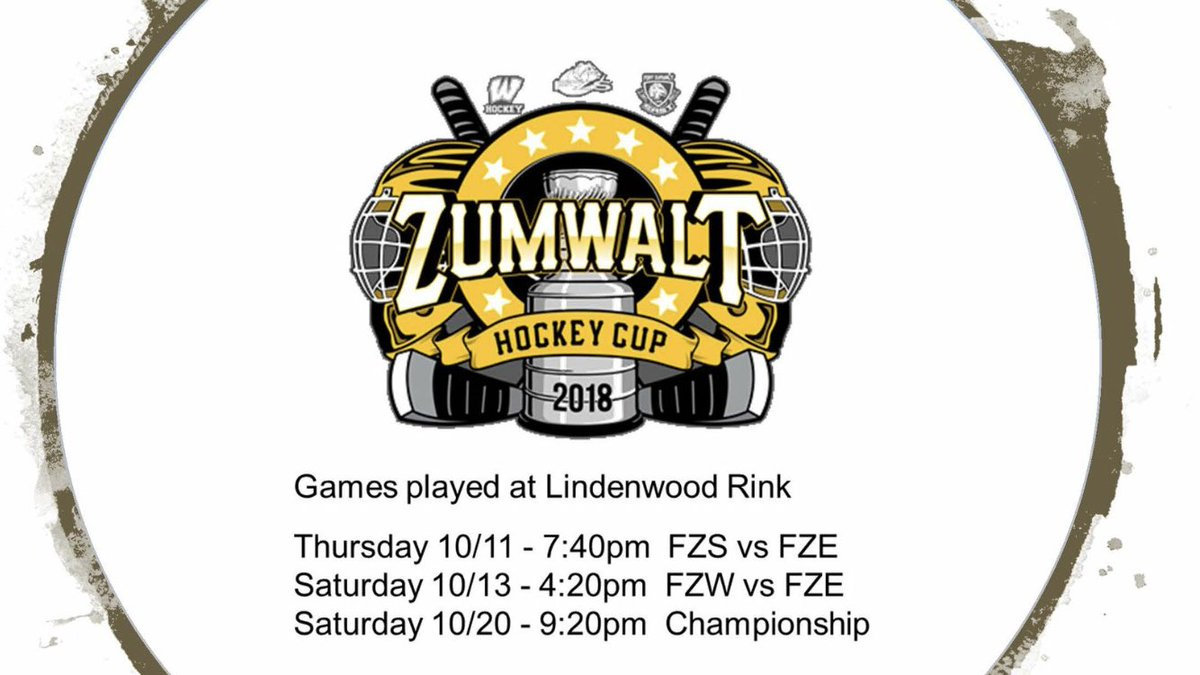 RT @FZEhockey: Mark your calendars. The boys have a Cup to defend! #ComeAndGetIt https://t.co/t5X89tAb93
