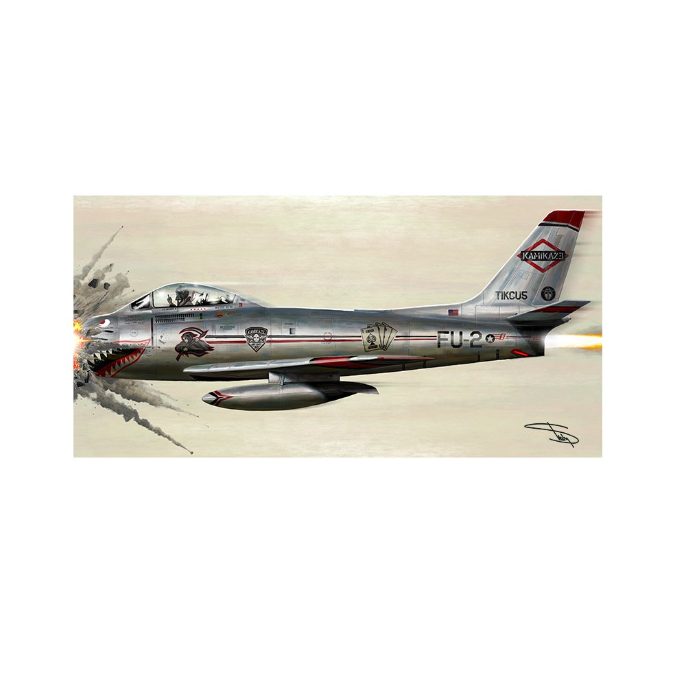 Art by Mike Saputo - Limited drop of autographed #Kamikaze prints in the store - https://t.co/iaooSmIwXZ https://t.co/OSPnnjcM0o