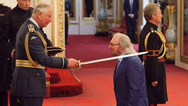 Happy birthday to the Sir Barry Gibb!