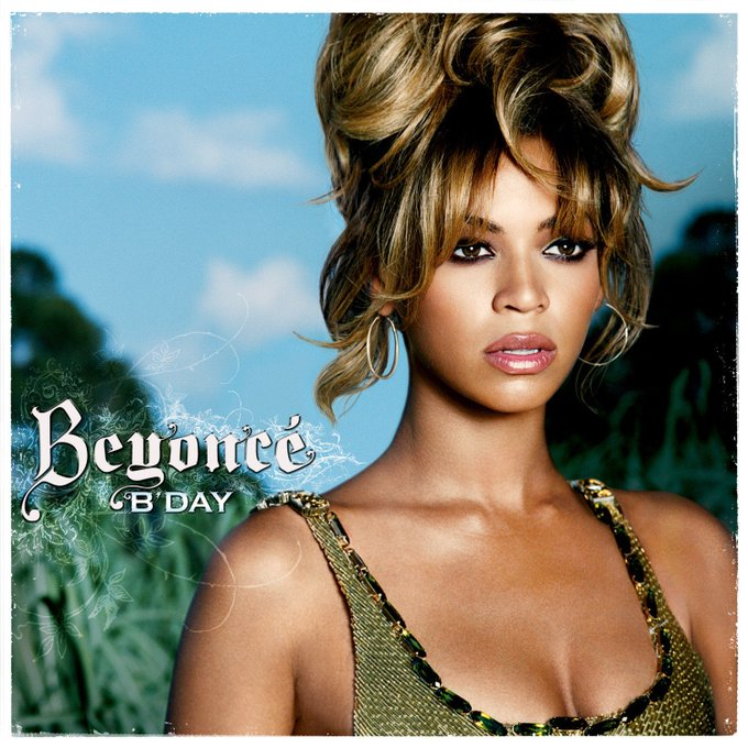 Happy 12th anniversary to second solo album, B Day
