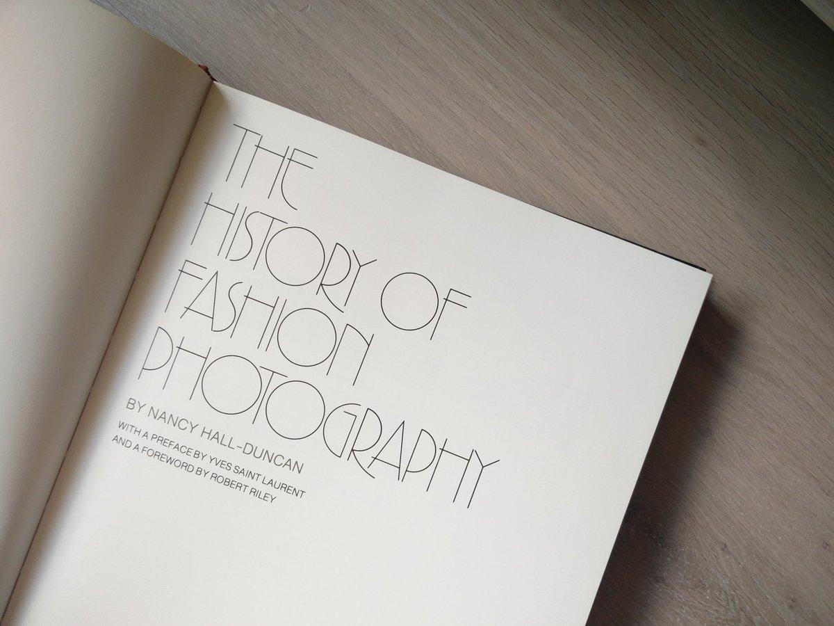 Heerlijke typografie. Daar kan ik van genieten. Echt.