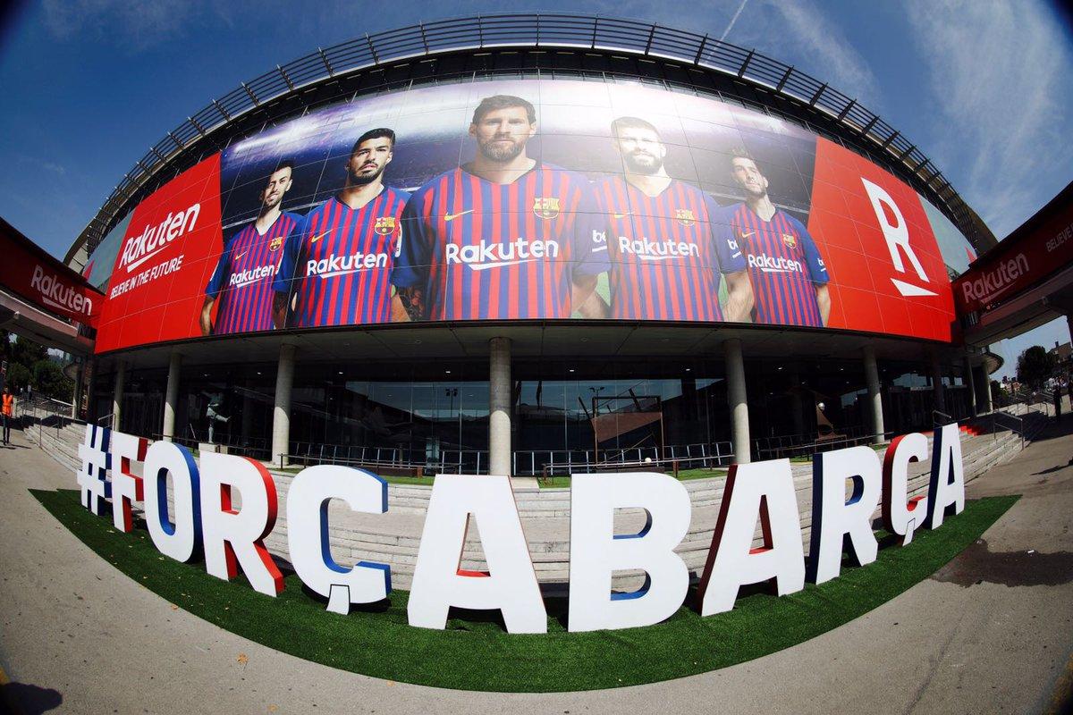 RT @FCBarcelona: ???? Camp Nou ???????? #ForçaBarça https://t.co/K6T8Y5f81M