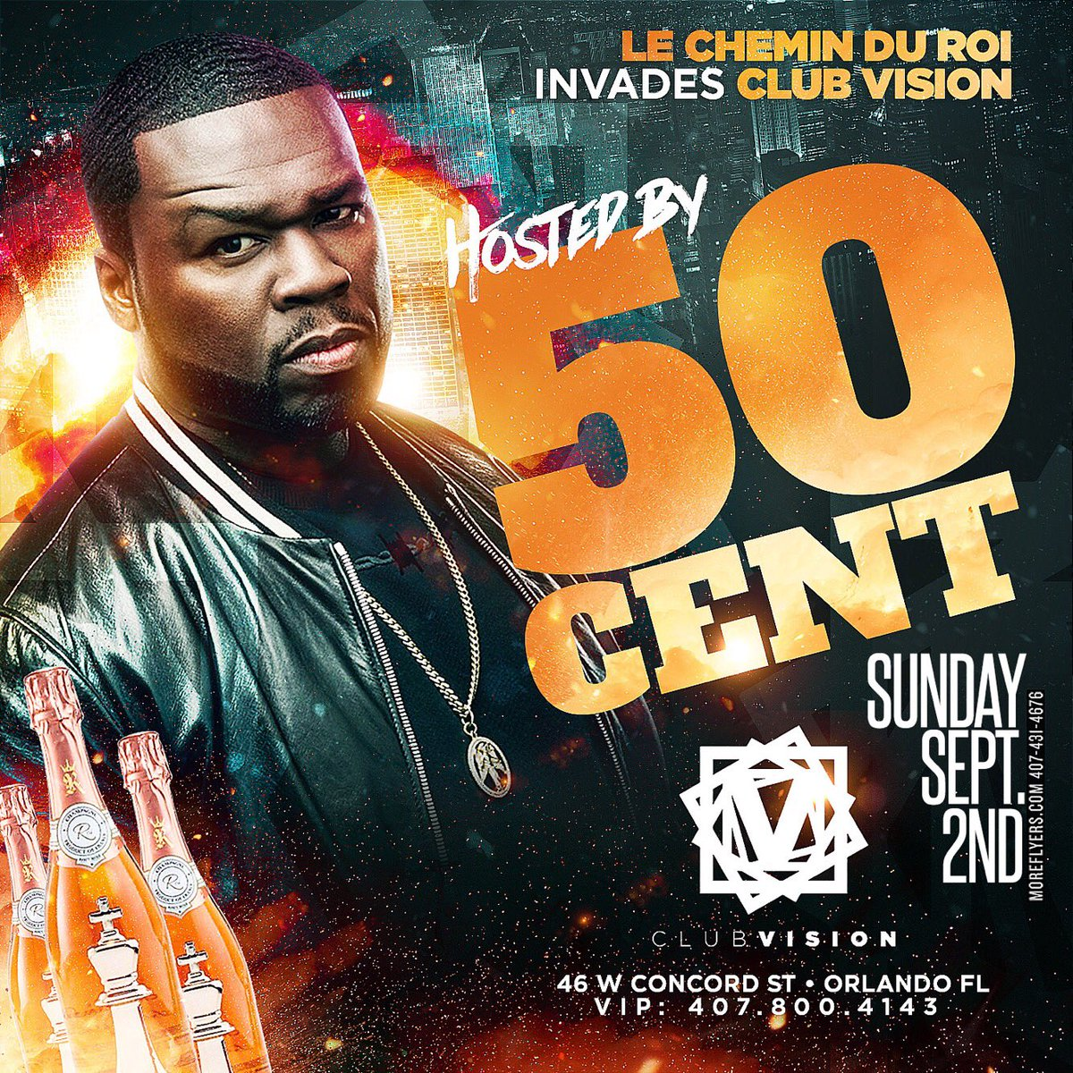 Orlando tonight, it's lit ... #lecheminduroi https://t.co/kP56KC3kbe