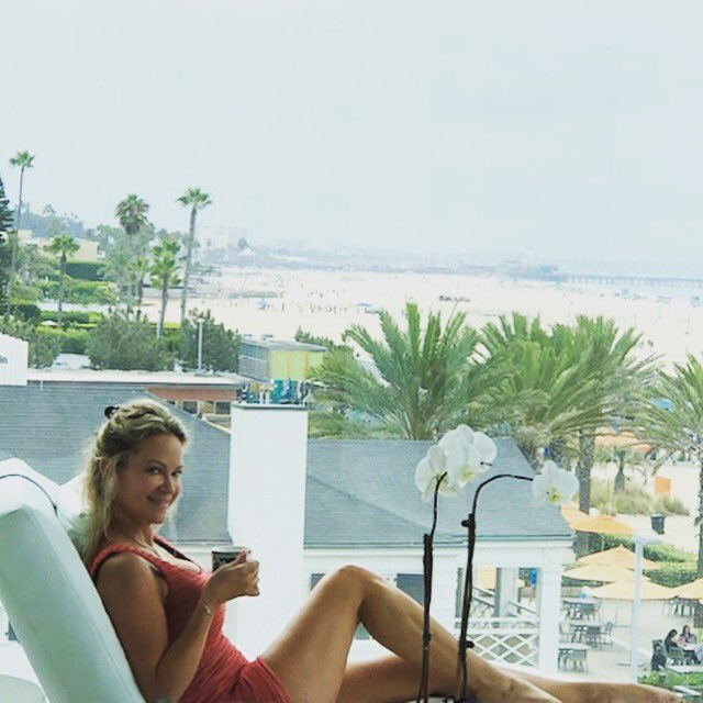 This was my morning coffee. How was yours? #santamonica #luxurytravel #roomwithaview OC