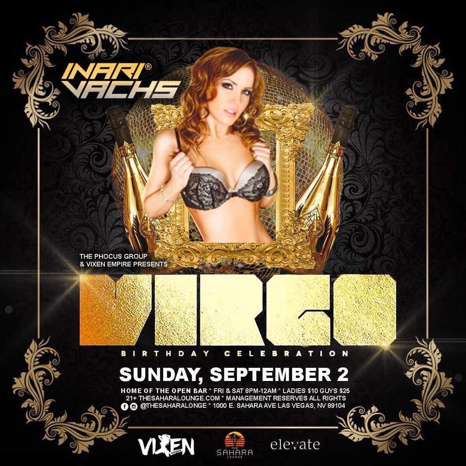 Who's in #vegas !??? Come buy me a drink! 😁#LastMinute #birthdaycelebration #VIRGO #VirgoSeason #saharalounge