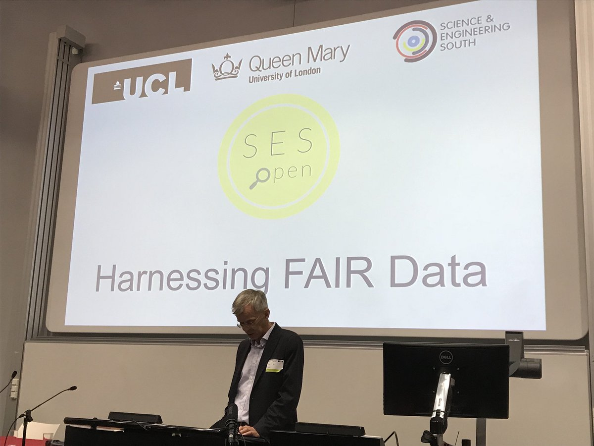test Twitter Media - Thanks Bill Spence for coming along to chair Harnessing Fair Data today at @qmul #SESOpen @eResearch_UCL @QMLibrary https://t.co/eo9EYM5myc