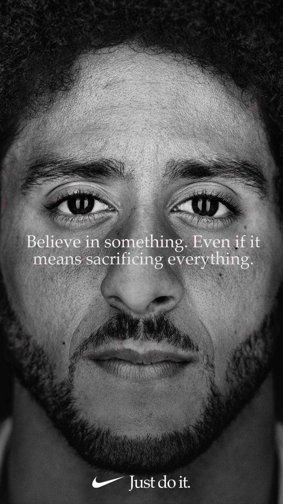 Believe in something, even if it means sacrificing everything. #JustDoIt https://t.co/SRWkMIDdaO