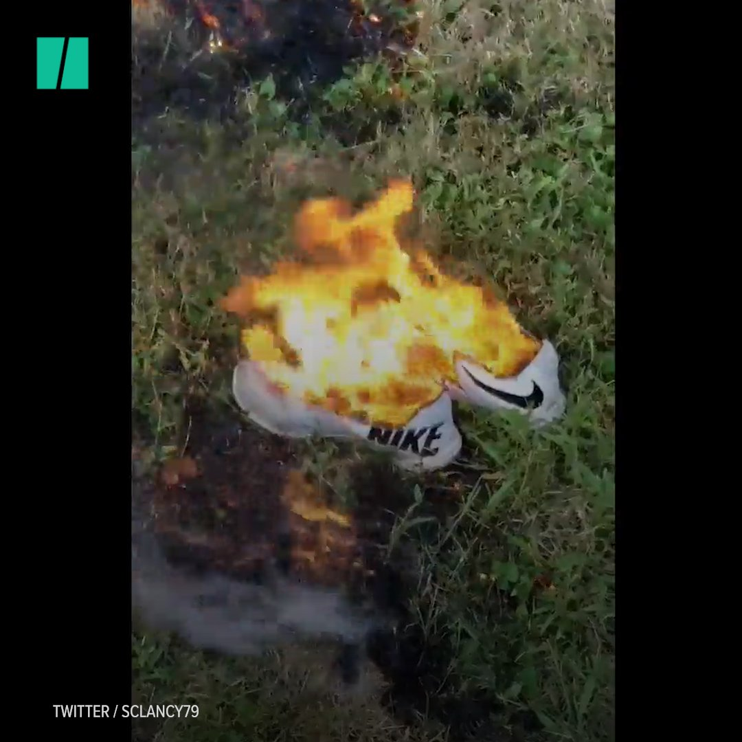 Colin Kaepernick is the new face of Nike and conservatives are burning the brand's clothing because of it. https://t.co/HjqeRmhLUa