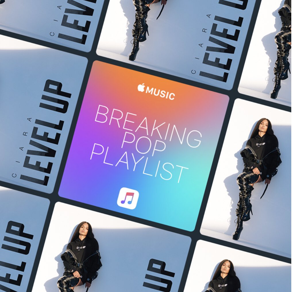 My song #LevelUp was added to the #BreakingPop Playlist on @AppleMusic! You can listen here: https://t.co/neECa5MtT9 https://t.co/A7xIQz0R7I