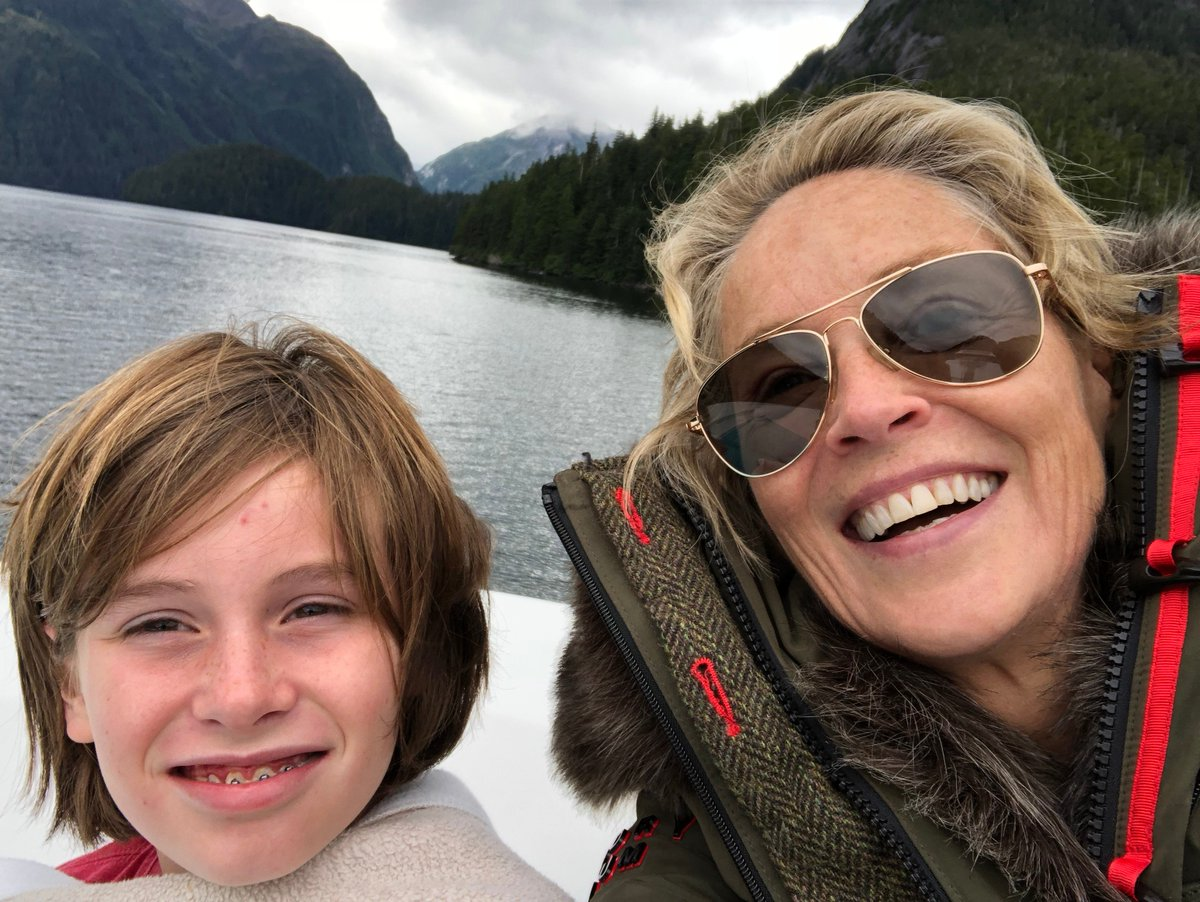 Quinn and I just back from Alaska - Stand Up for America Patriots! If not now, then when? https://t.co/Hiy4UIuzQJ