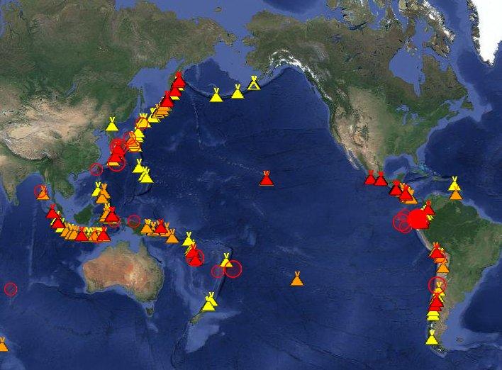 test ツイッターメディア - 【緊急警告】48時間で69回の地震が「リング・オブ・ファイア」で発生していた!南海トラフ大地震の可能性、専門家も危惧!https://t.co/1izmKVGOMA… https://t.co/UXRZmYSaco