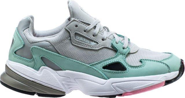 kylie jenner x adidas falcon womens running shoe grey greenfree shipping e93121f5f