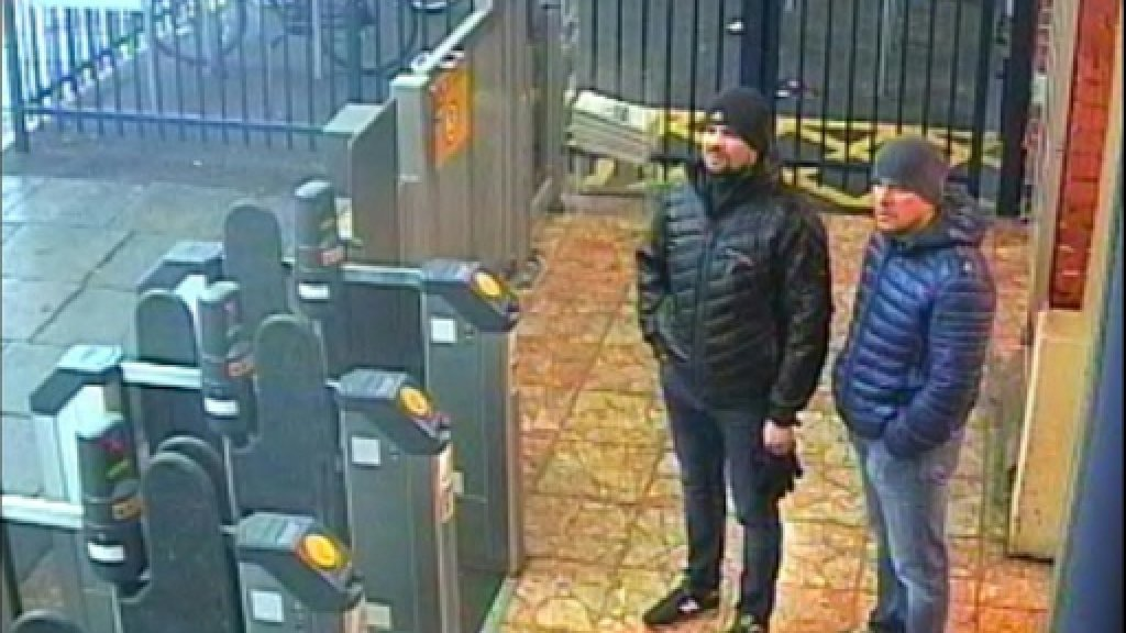 Skripal suspects interview 'lies' and an 'insult': Downing St