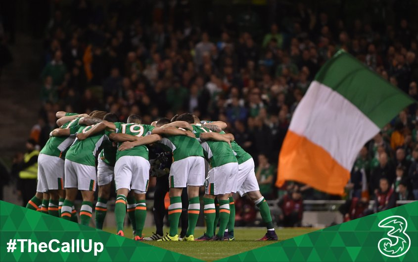 Nearly time for kick-off in Cardiff, Come On You Boys in Green! 👊 #TheCallUp #WALIRL 🇮🇪 https://t.co/LhVoDqQM5c