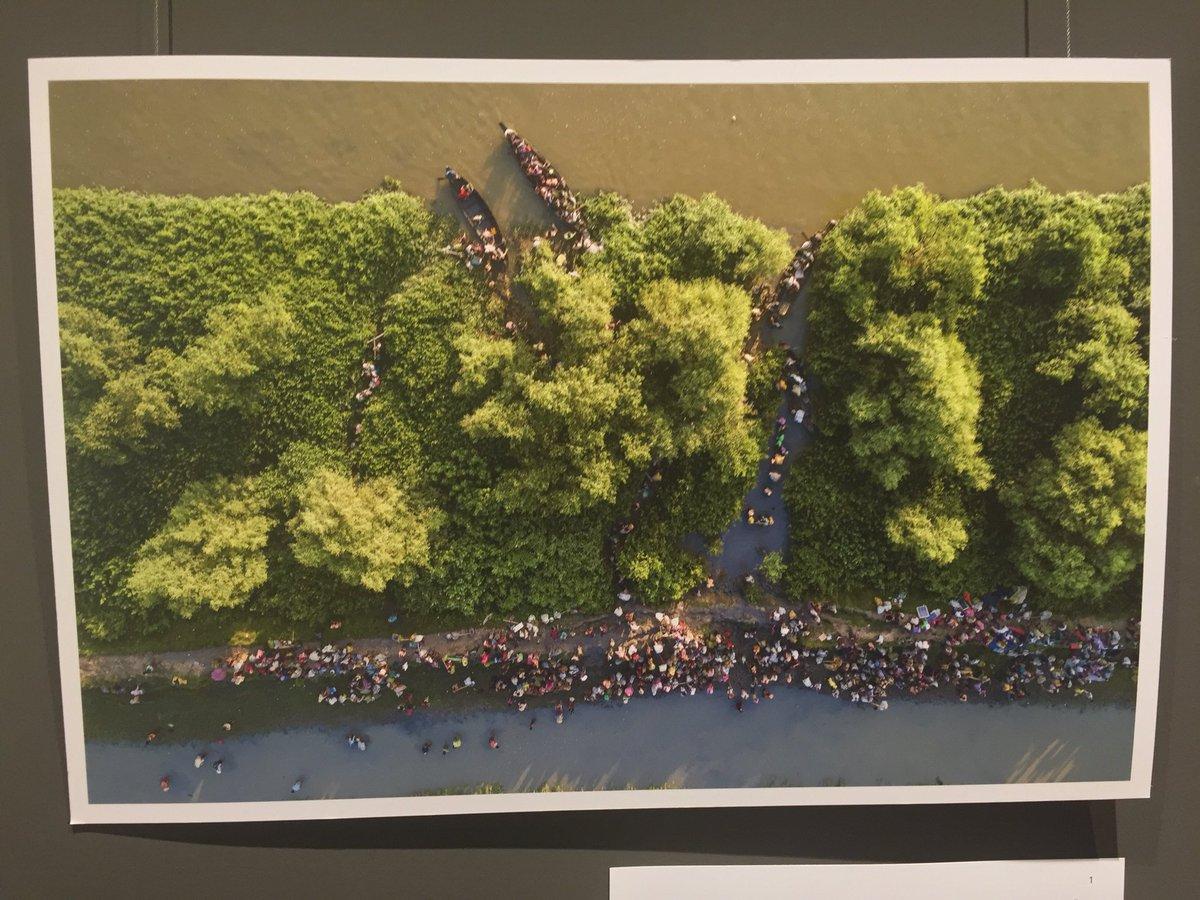 From a #Rohingya photo exhibit in #Dhaka #Bangladesh.  #Myanmar /1
