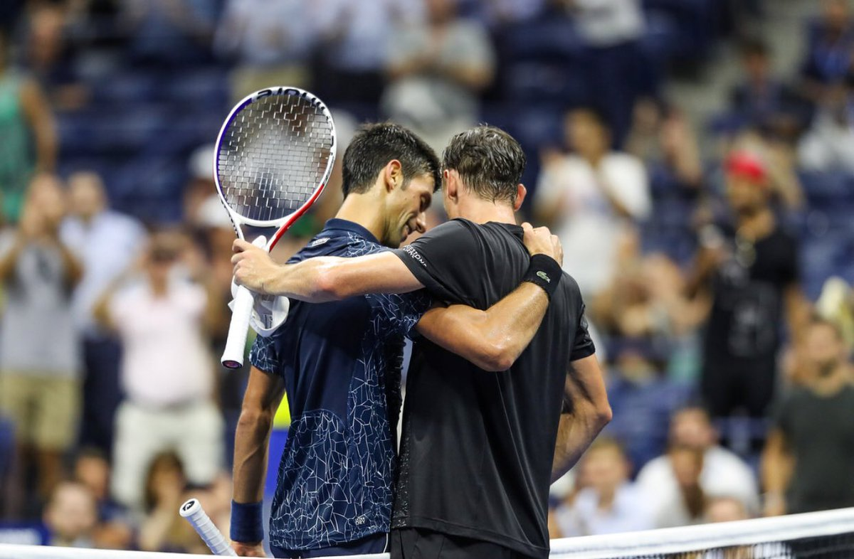 Dmagpajucaavhgs Novak Djokovic Cruises Kei Nishikori