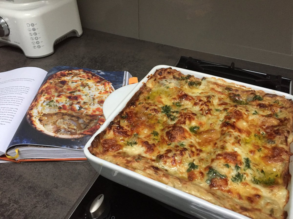 Well, this is a dish made with love!! Well done Bob @JulesD7, that's a cracking lasagne!   Lasagne, page 136 https://t.co/aFJgsan2nm