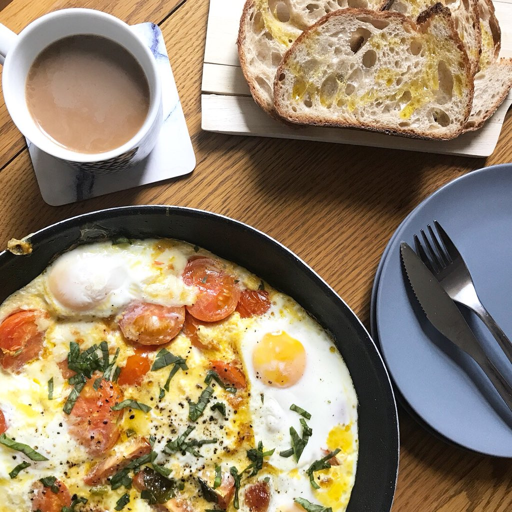 Loving your #brunch game @HungryCityHippy! ????  Mozzarella Fried Eggs, page 48 https://t.co/th1GevvIcr