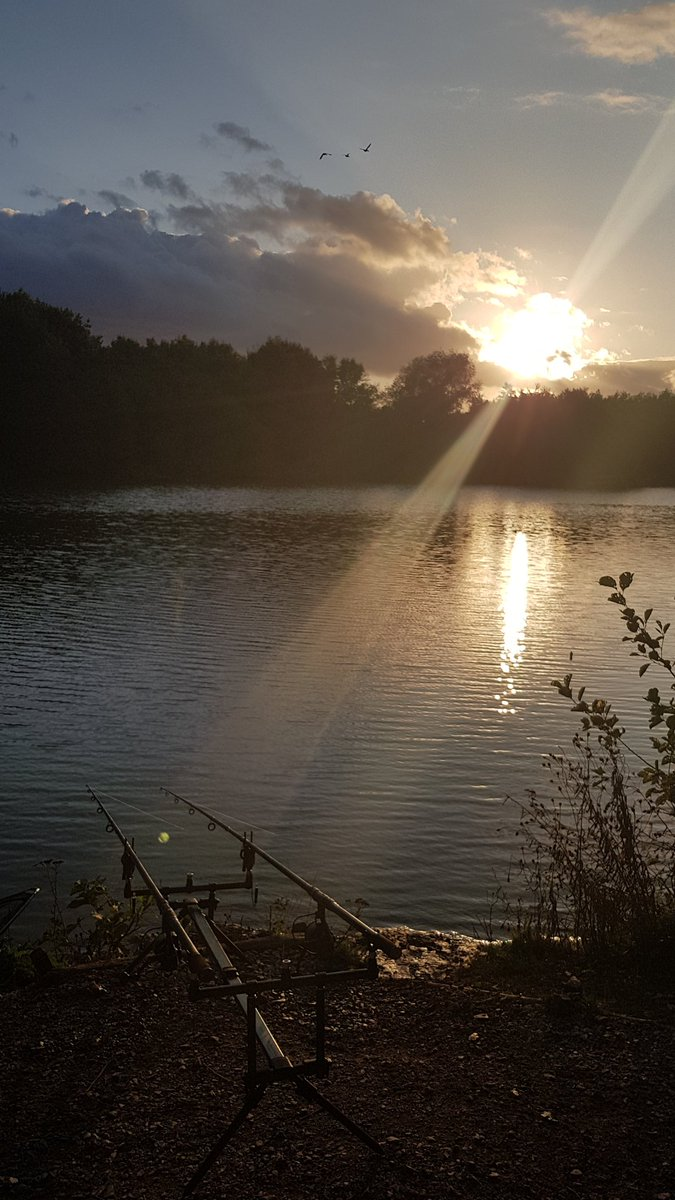 Spots re<b>Baited</b>, hookbaits fresh, settle in for night and pray the carp gods giveth 🙏🙏�