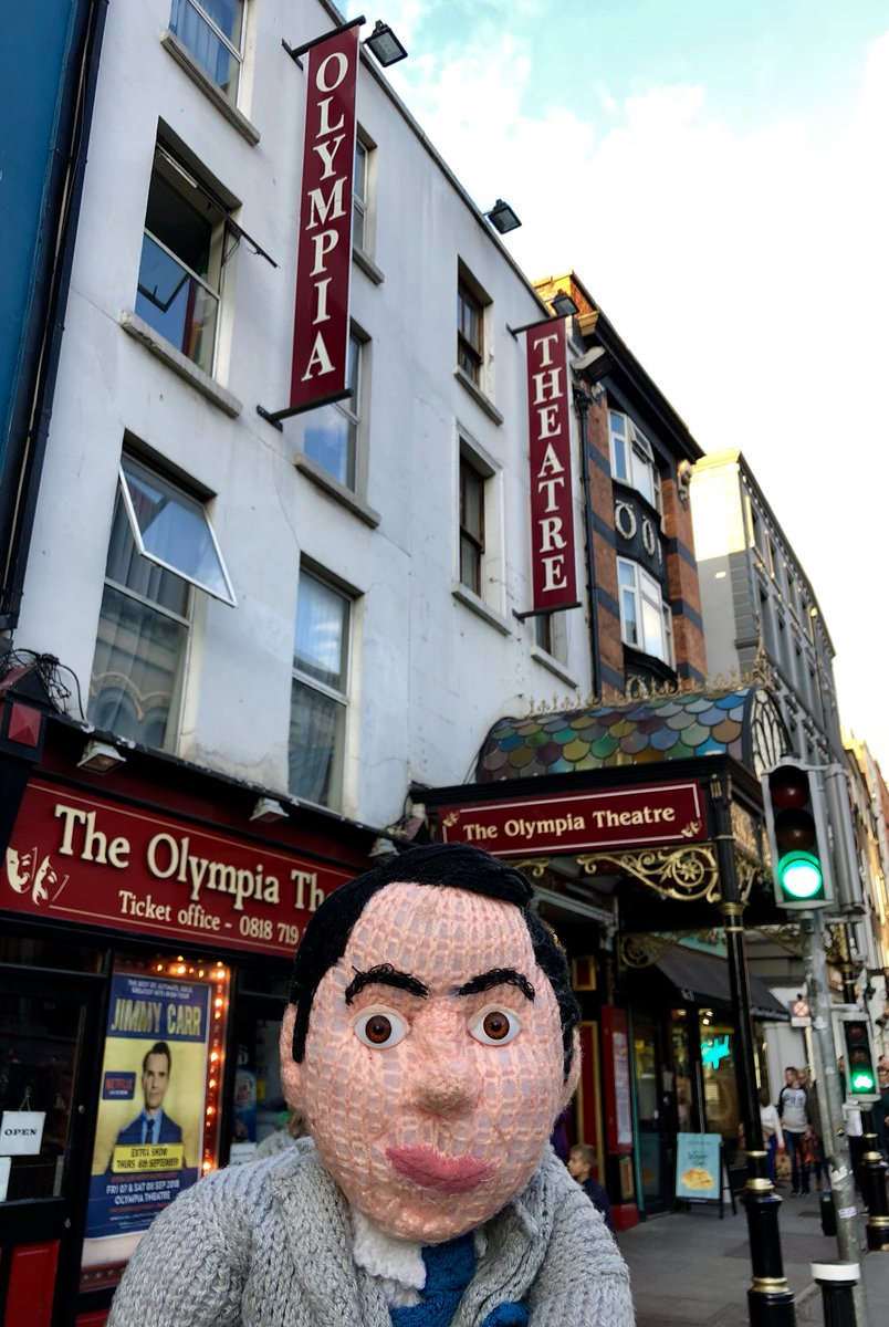RT @jimmycarr: I'm in Dublin for three nights, recording my Netflix special at the Olympia Theatre. https://t.co/u7f059489p