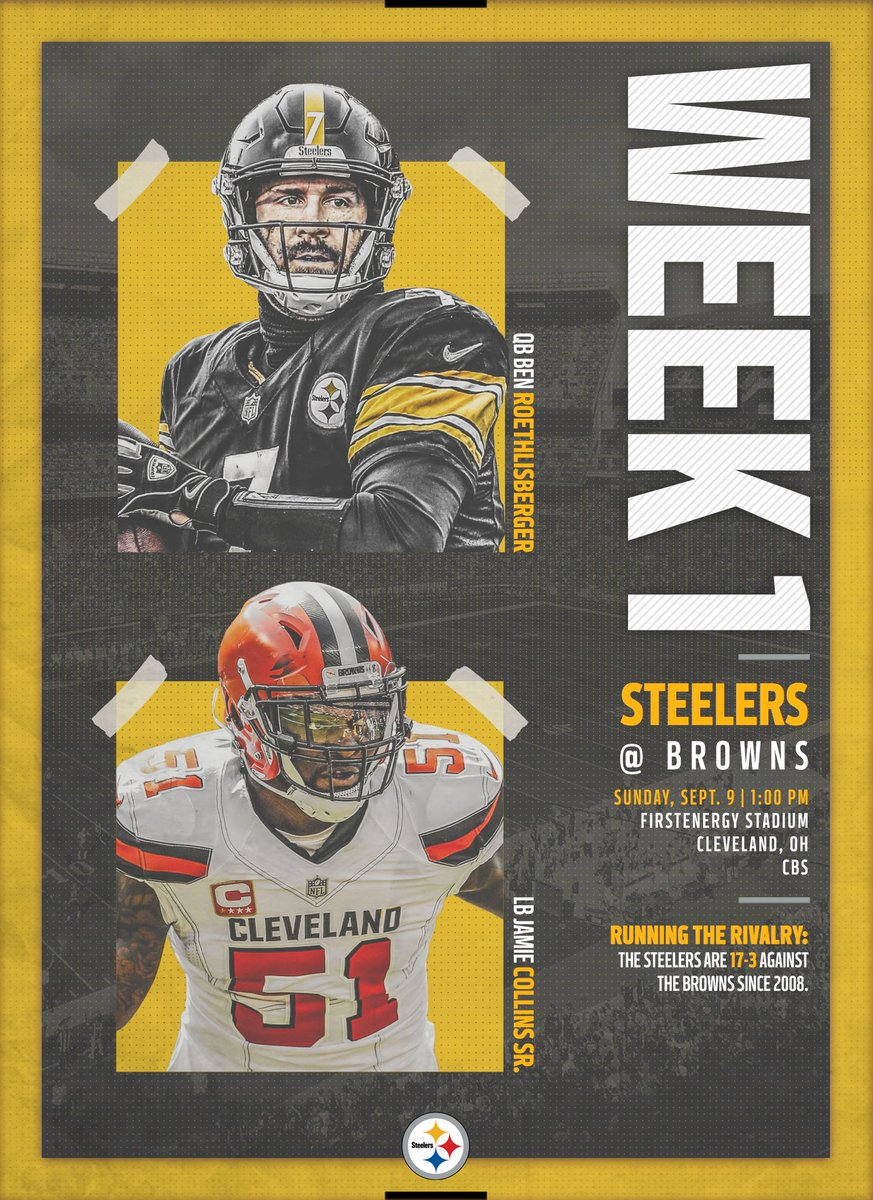 NFL season is finally back ???????????????? Steeler Nation comin for that ????#HereWeGo https://t.co/d3iTlAXY8v