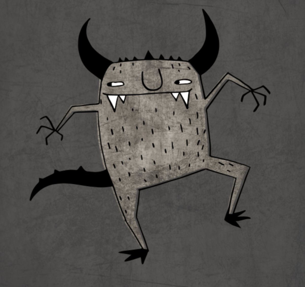 Draw your own monster. Could be any kind of original creation. Then add your character here: https://t.co/vyQ2UR1K2S https://t.co/nthH2VSpDu
