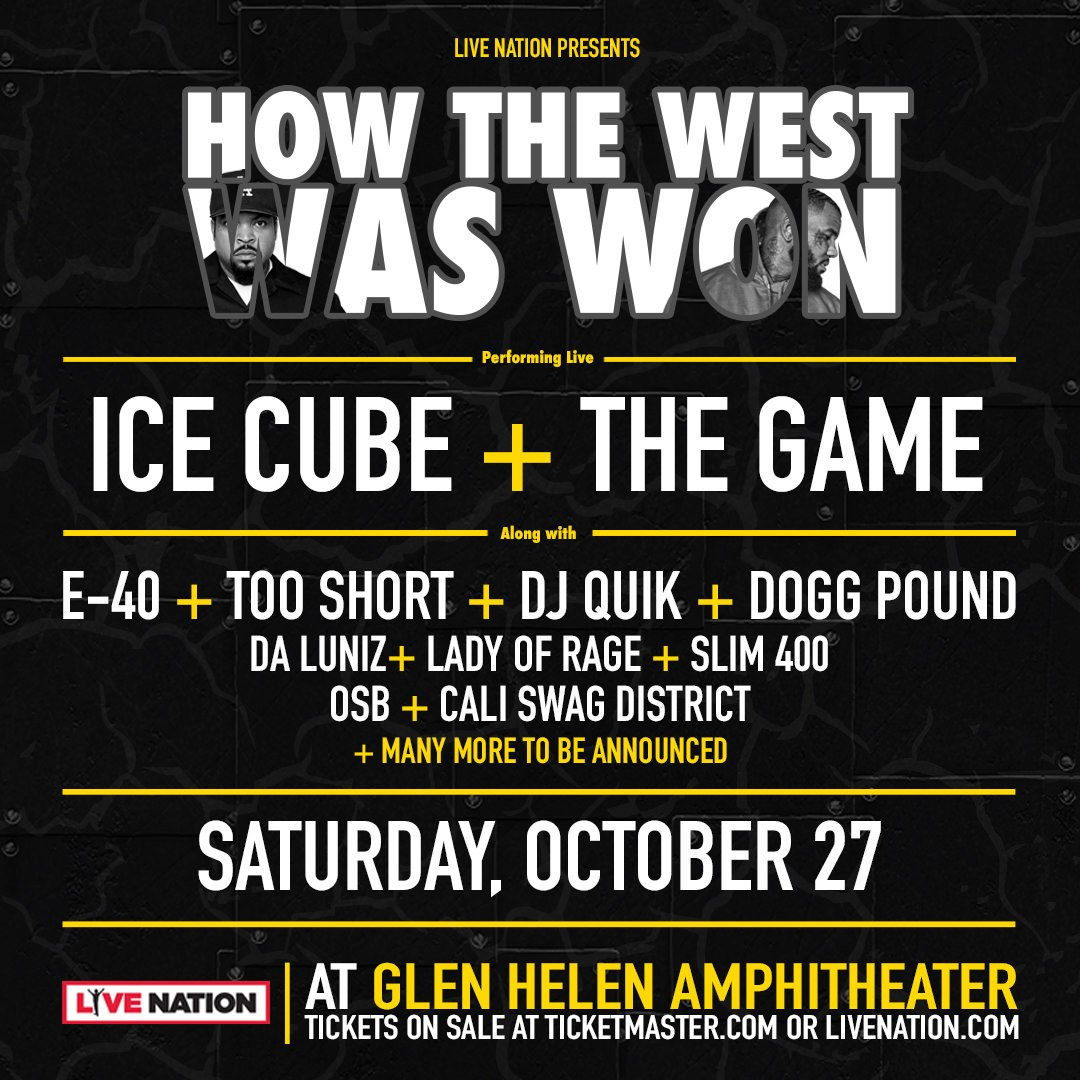 It's going down Oct. 27 at the Glen Helen Amphitheatre. Hit the link https://t.co/ExpYlDz7IK https://t.co/5L8yGu3btA