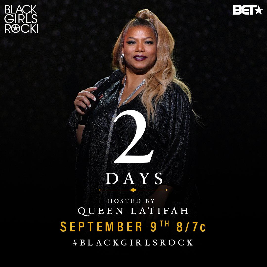 I'll be hosting #BlackGirlsRock in 2 days! #BET https://t.co/r3eGuqphbq