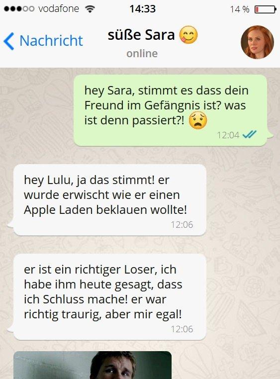 Saras Freund wollte Apple beklauen! :O  ++++ GANZES BILD : https://t.co/dGUknlVXDZ ++++ https://t.co/1dZIdiVmxb