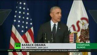 Obama criticises Trump's America & urges midterm turnout