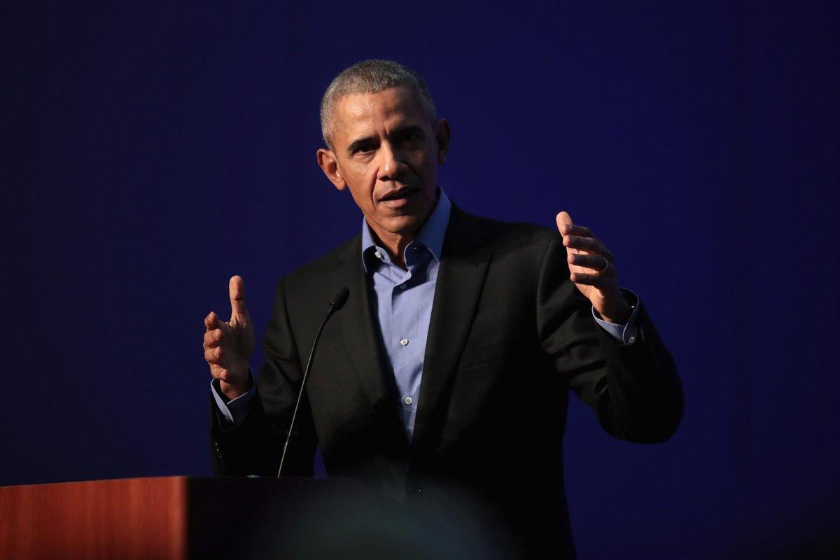 "Republicans lack the ""backbone"" to safeguard democracy, Barack Obama says"