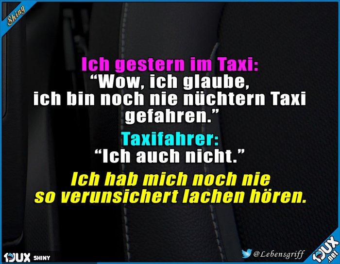 Taxifahrer mit Humor https://t.co/AHhsT6FNXk