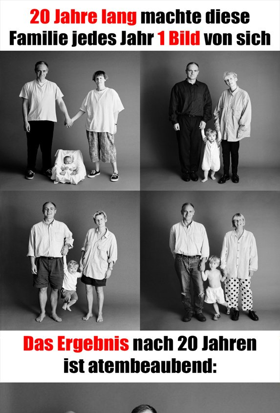 Vater, Mutter und Sohn machen seit 21 Jahre lang das selbe Foto  ++++ GANZES BILD : https://t.co/mrQWEbrDLZ ++++ https://t.co/F6JaJkrHwq
